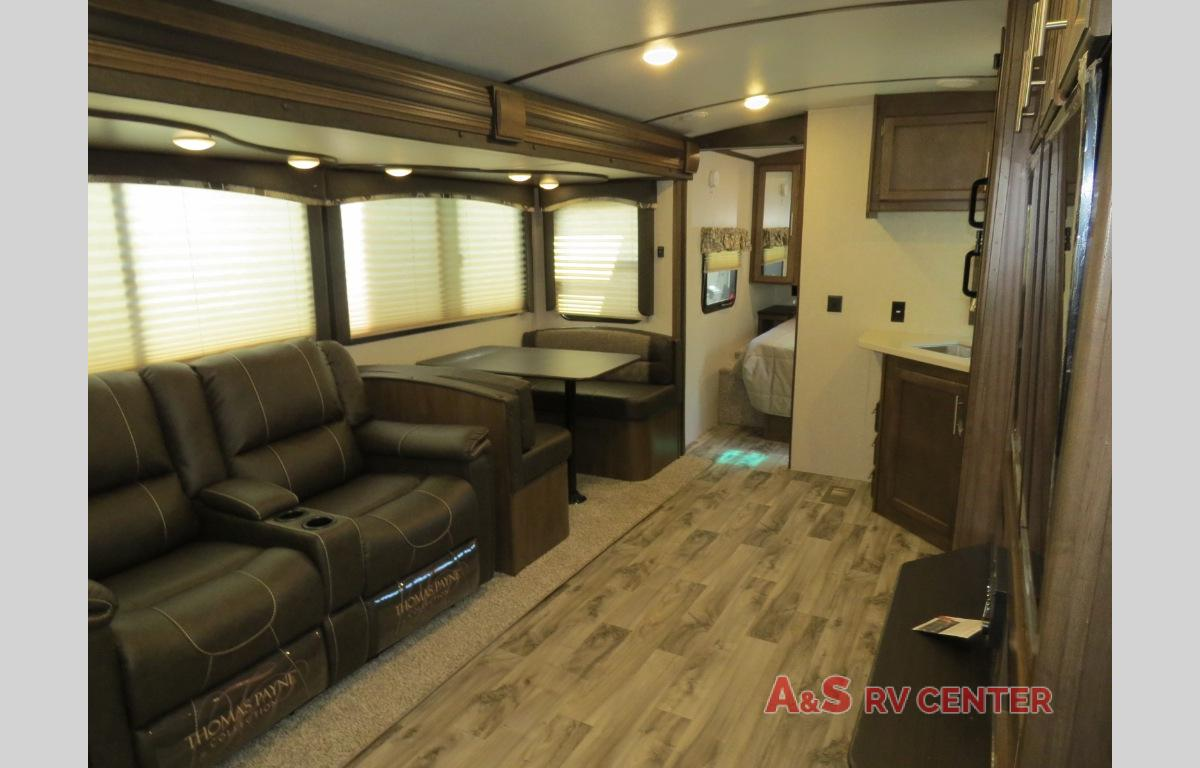 Keystone Cougar travel trailer