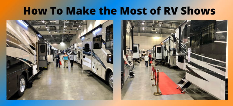 How to Make the Most of an RV Show