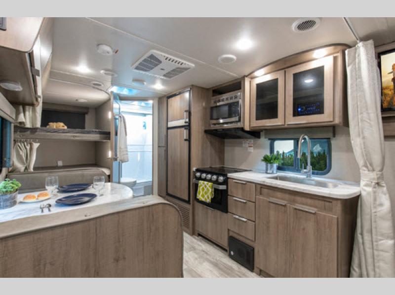 grand design imagine travel trailer kitchen