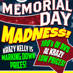 Memorial Day madness sale