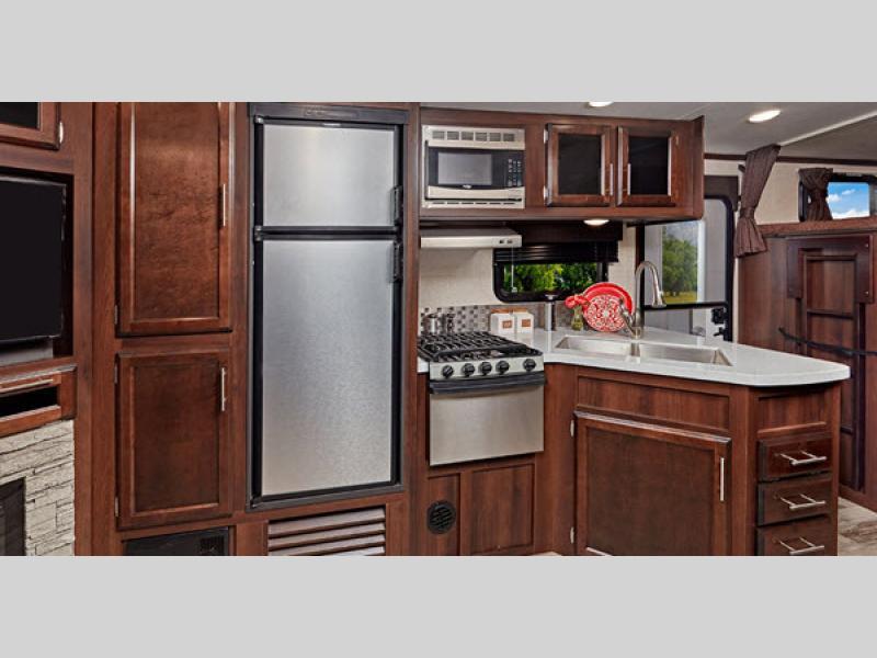 kitchen in white hawk