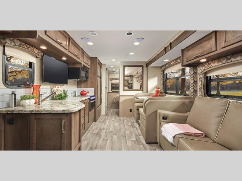 2020 Jayco alante motorhome review living room