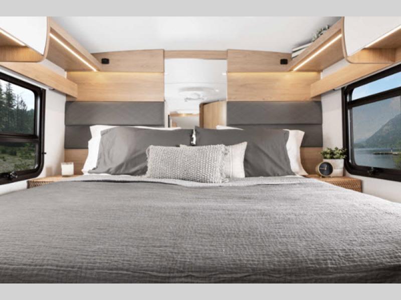 Wonder Class B+ Motorhome Review bedroom