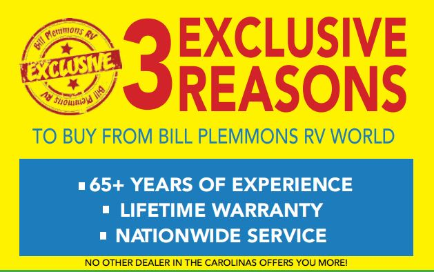 RV Fever Bill Plemmons three reasons