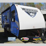 Winnebago Micro Minnie Travel Trailer Blue