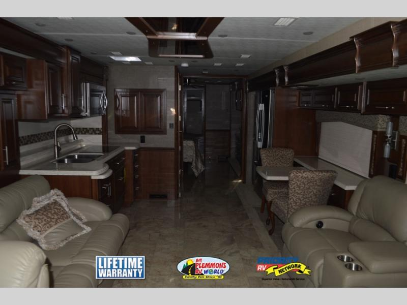 Bill Plemmons Entegra Aspire Diesel Class A Motorhome Interior