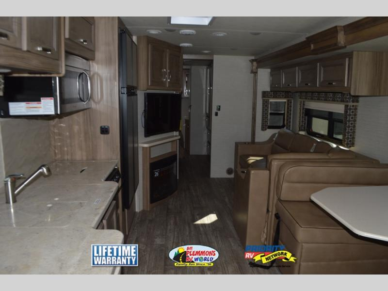 Bill Plemmons Jayco Precept Class A Motorhome Interior