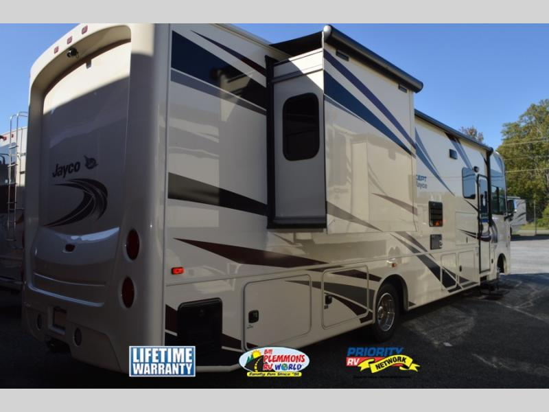Bill Plemmons Jayco Precept Class A Motorhome Rear