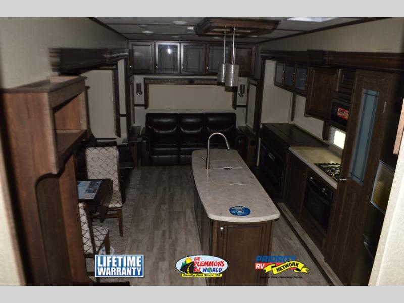 Grand Design Solitude Fifth Wheel Interior