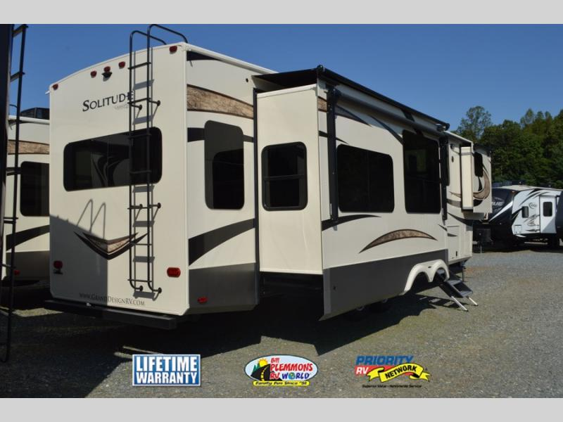 Grand Design Solitude Fifth Wheel Rear