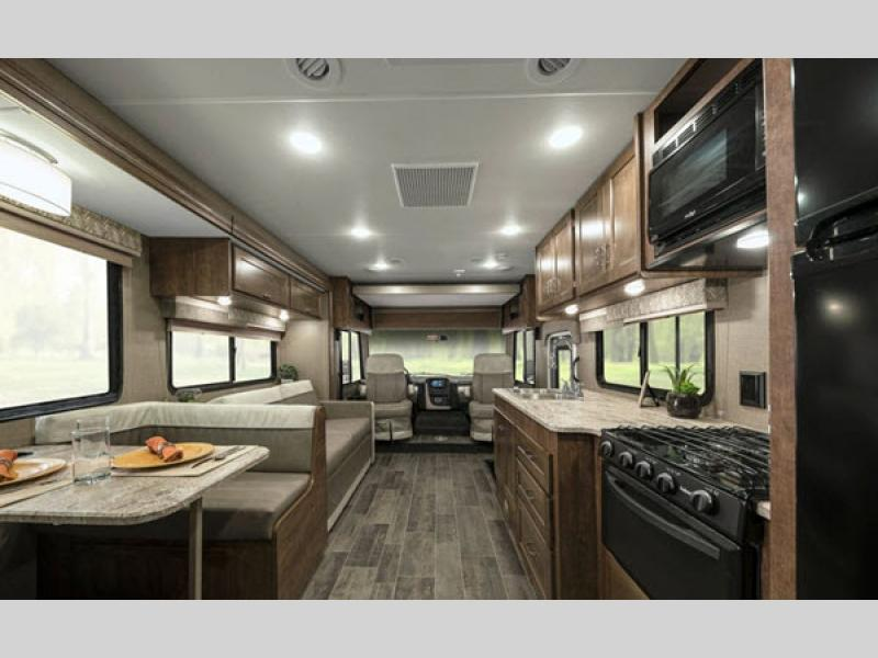 Winnebago Intent Class A Motorhome Interior