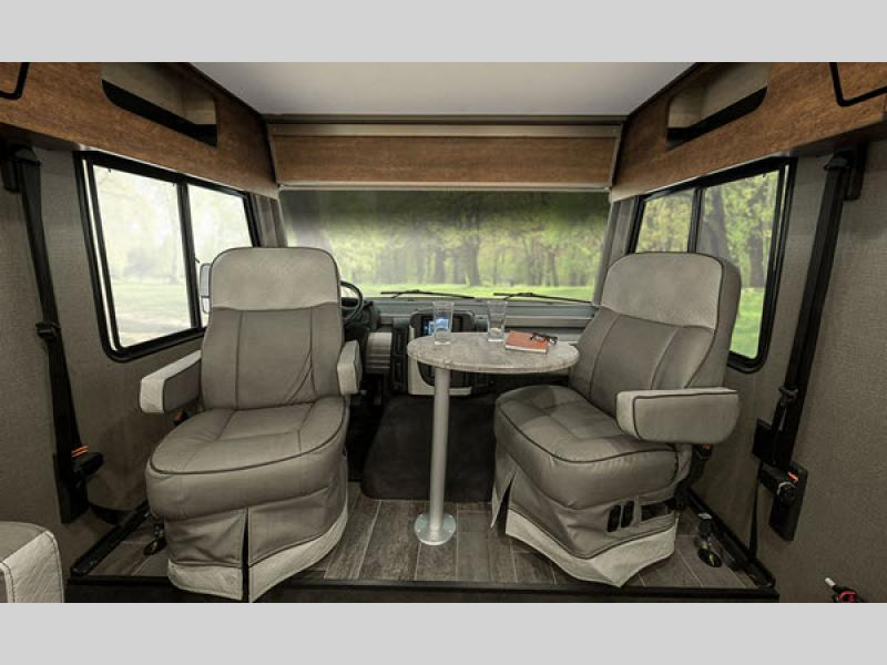 Winnebago Intent Class A Motorhome Swival Capyais Seats