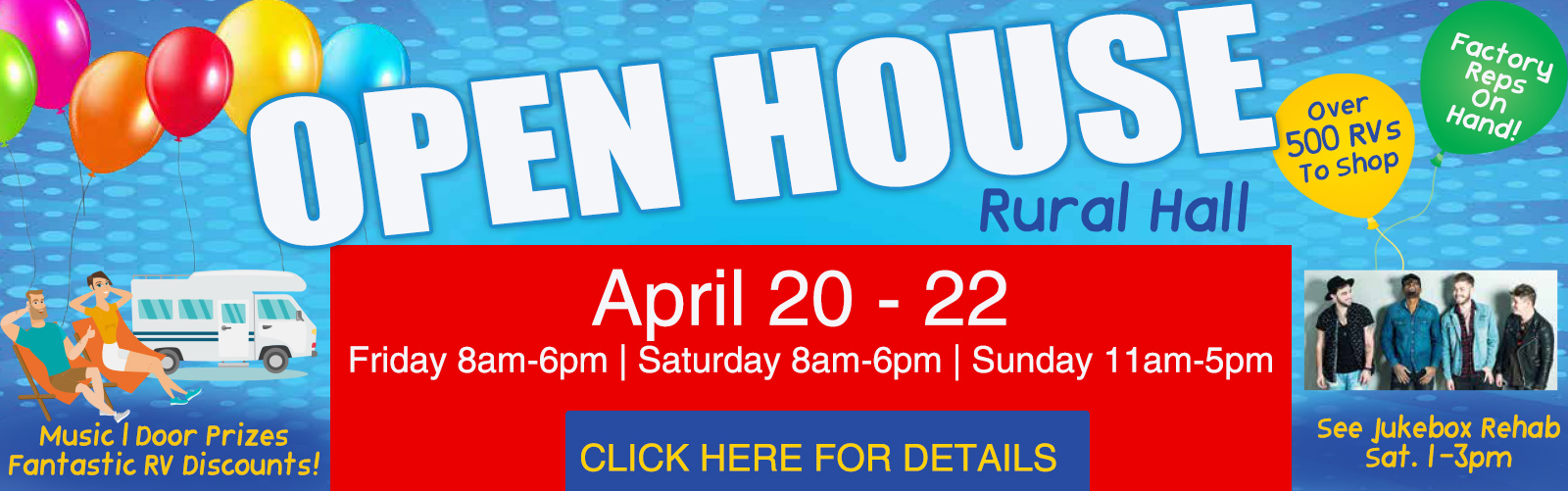 Bill Plemmons Open House RV Sale
