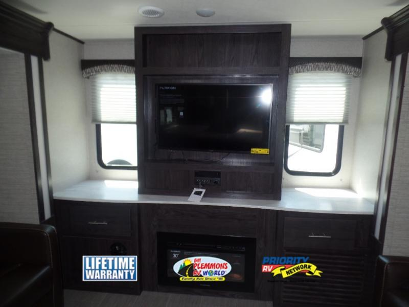 Dutchmen Kodiak Ultimate Travel Trailer Fireplace