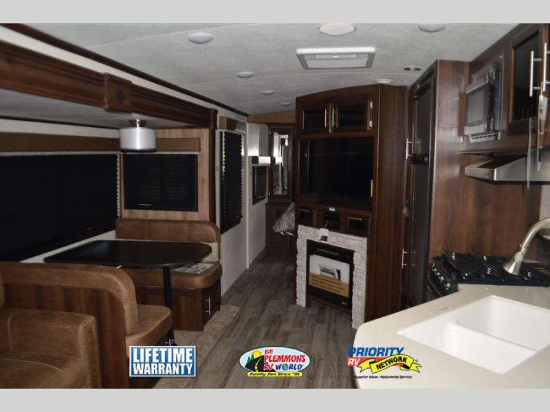 Jayco White Hawk Travel Trailer Interior