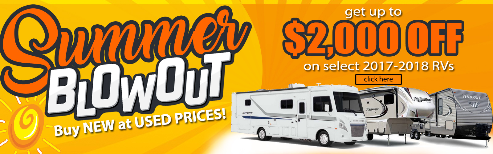 Bill Plemmons Blowout RV Sale 2018 RV Clearance