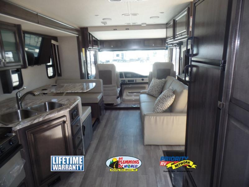 Fleetwood Flair Class A Motorhome RV Bill Plemmons RV Interior
