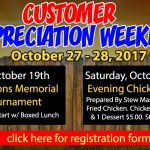 bill plemmons golf tournament customer appreciation rv sale 2018 chicken stew