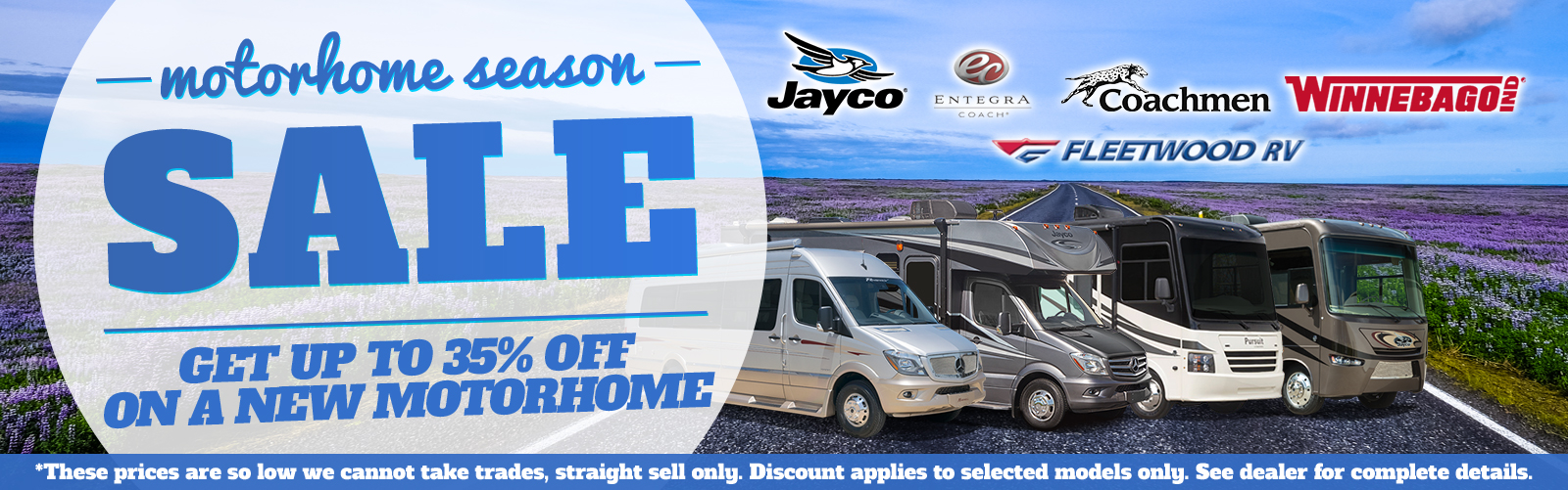 Motorhome rv sale Bill PLemmons RV North Carolina