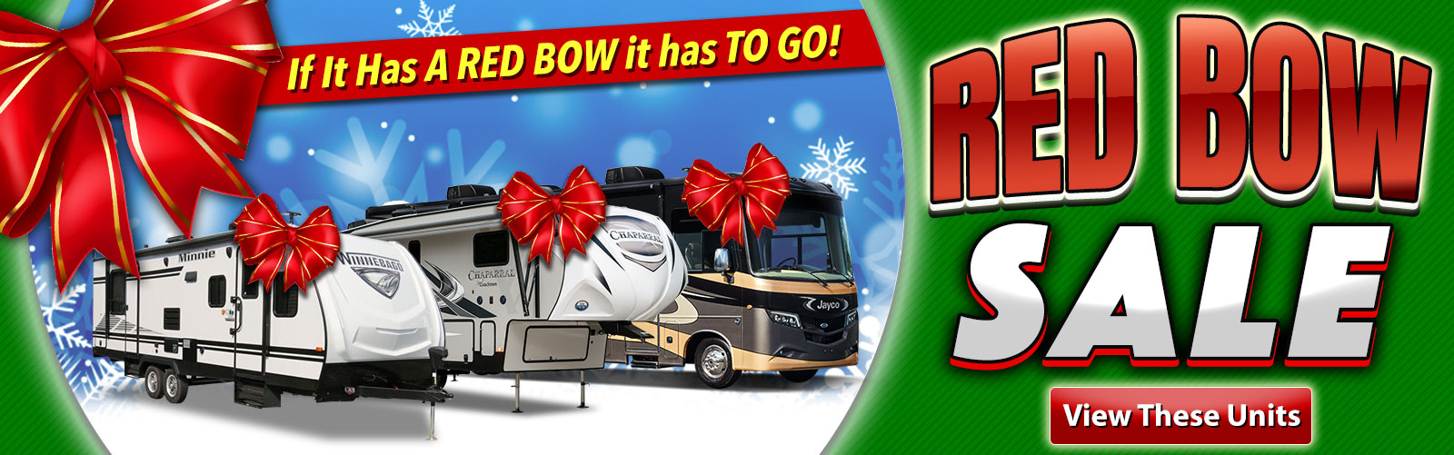 Red Bow RV Sale Bill Plemmons RV World North Carolina