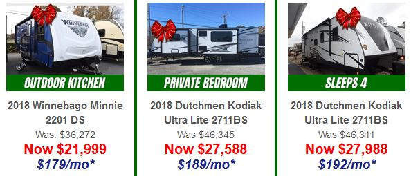 Red Bow RV Sale Bill Plemmons RV World Travel Trailers