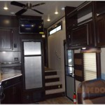 Genesis Supreme Fifth Wheel Toy Hauler Living Area