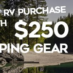 Blue Dog RV Great American Campout Sale