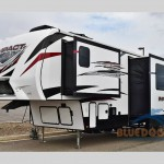 Impact fifth wheel toy hauler
