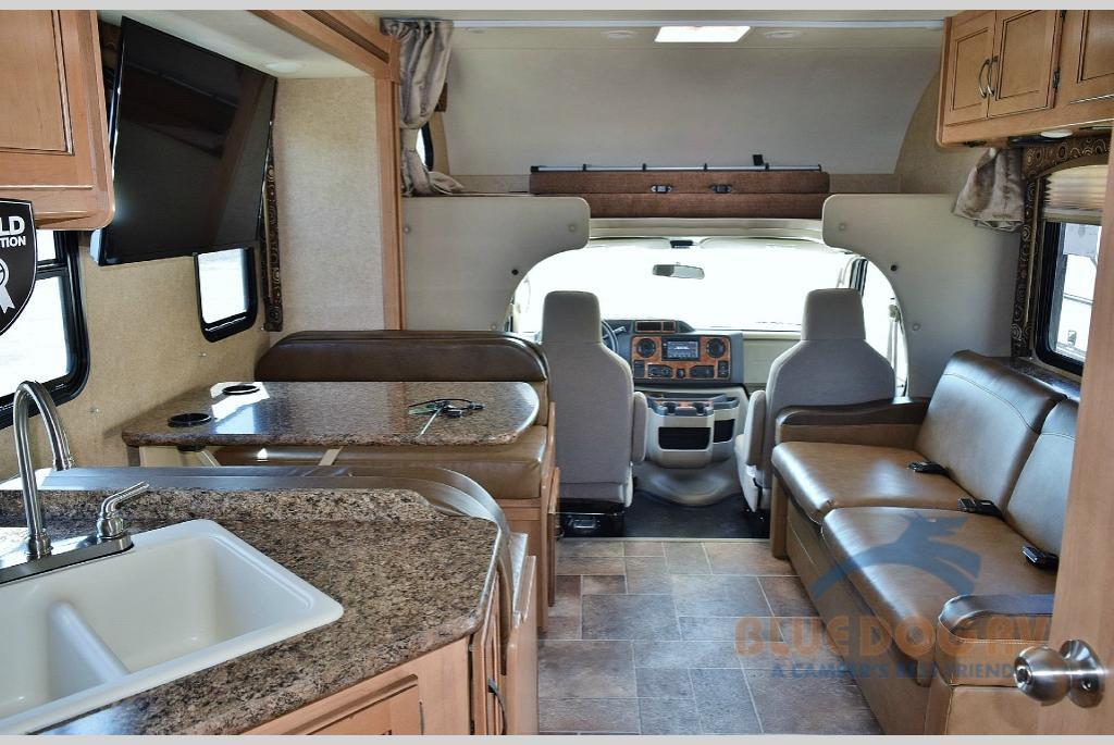 Thor Motor Coach Four Winds Class C Motorhome Interior