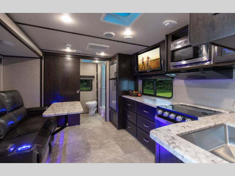 kitchen Grand Design Imagine XLS Travel Trailer