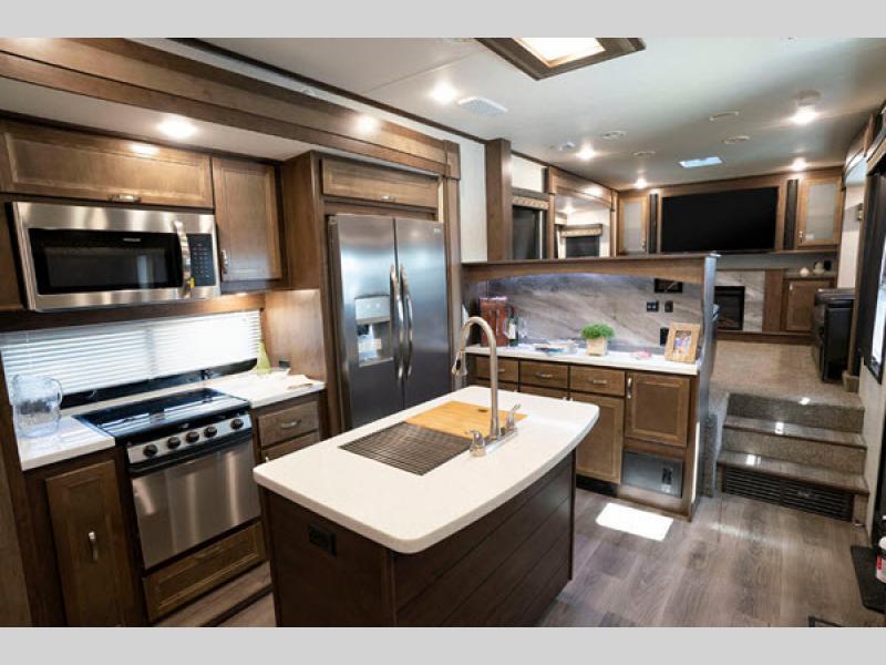 kitchen open range
