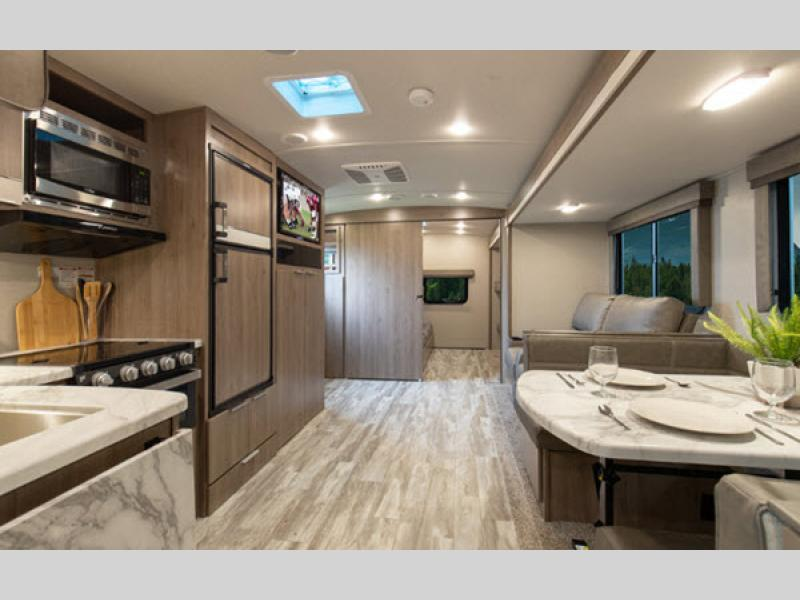 imagine travel trailer living room