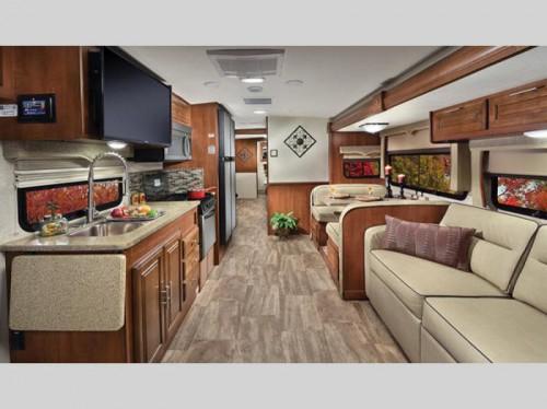 Georgetown 5 Series Class A Motorhome Interior