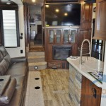 Heartland Cyclone Toy Hauler Fifth Wheel Interior