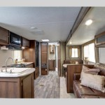 Keystone Bullet Travel Trailer Interior