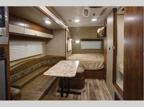 Keystone Passport ROV Travel Trailer Interior
