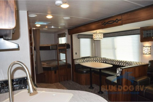 Heartland Wilderness Travel Trailer Interior
