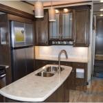 Grand Design Solitude 377MBS Fifth Wheel Kitchen