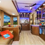 Cherokee Arctic Wolf Fifth Wheel Interior