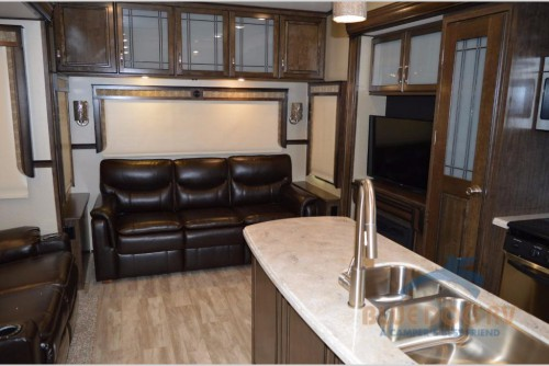 Grand Design Solitude 377MBS Fifth Wheel Interior