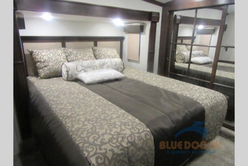 Forest River Cardinal Fifth Wheel Bedroom