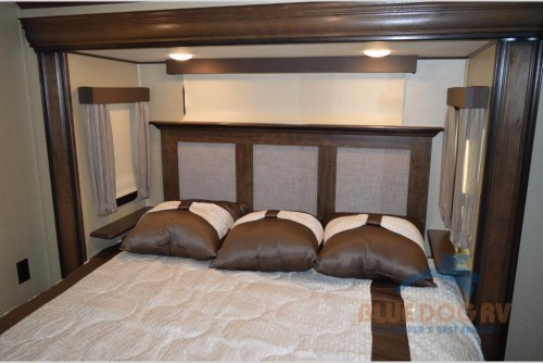 Grand Design Solitude 377MBS Fifth Wheel Bedroom