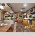 interior springdale travel trailer