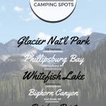 Montana RV Camping Spots