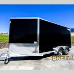 Alcom Mission MEC 6.5x14 aluminum cargo trailer.