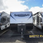The Keystone Springdale 189FLWE travel trailer.