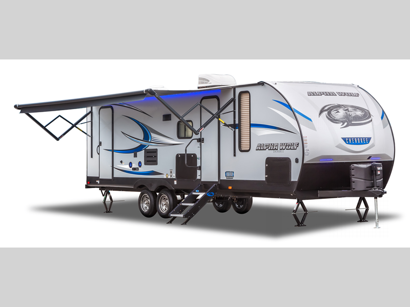 Forest River Cherokee Alpha Wolf Review Travel Trailer Brown's RV South  Carolina Bunkhouse