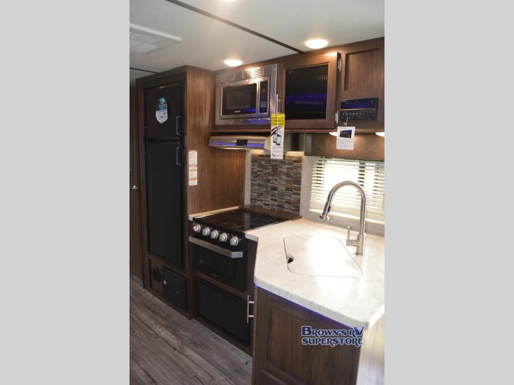 Forest River Cherokee Alpha Wolf Review Travel Trailer Brown's RV South Carolina Kitchen