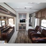 Keystone Cougar X-Lite Fifth Wheel Living Area