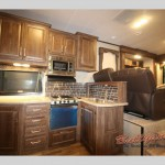 Keystone Cougar Fifth Wheel Kitchen
